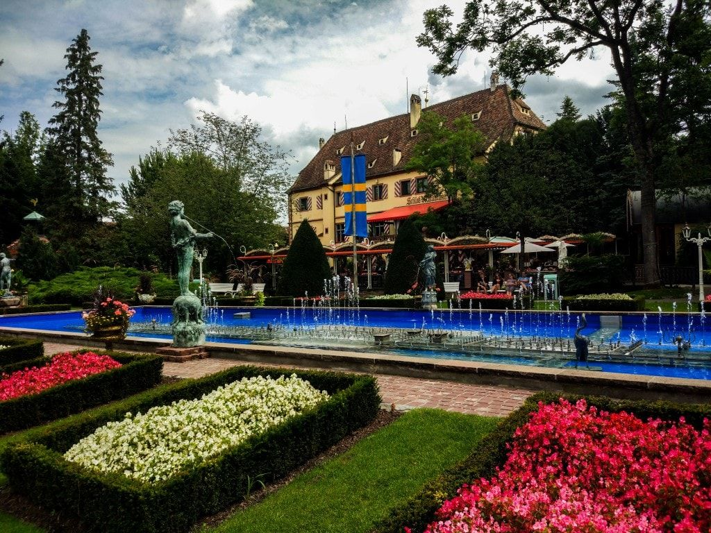 Germania Europa Park - castello