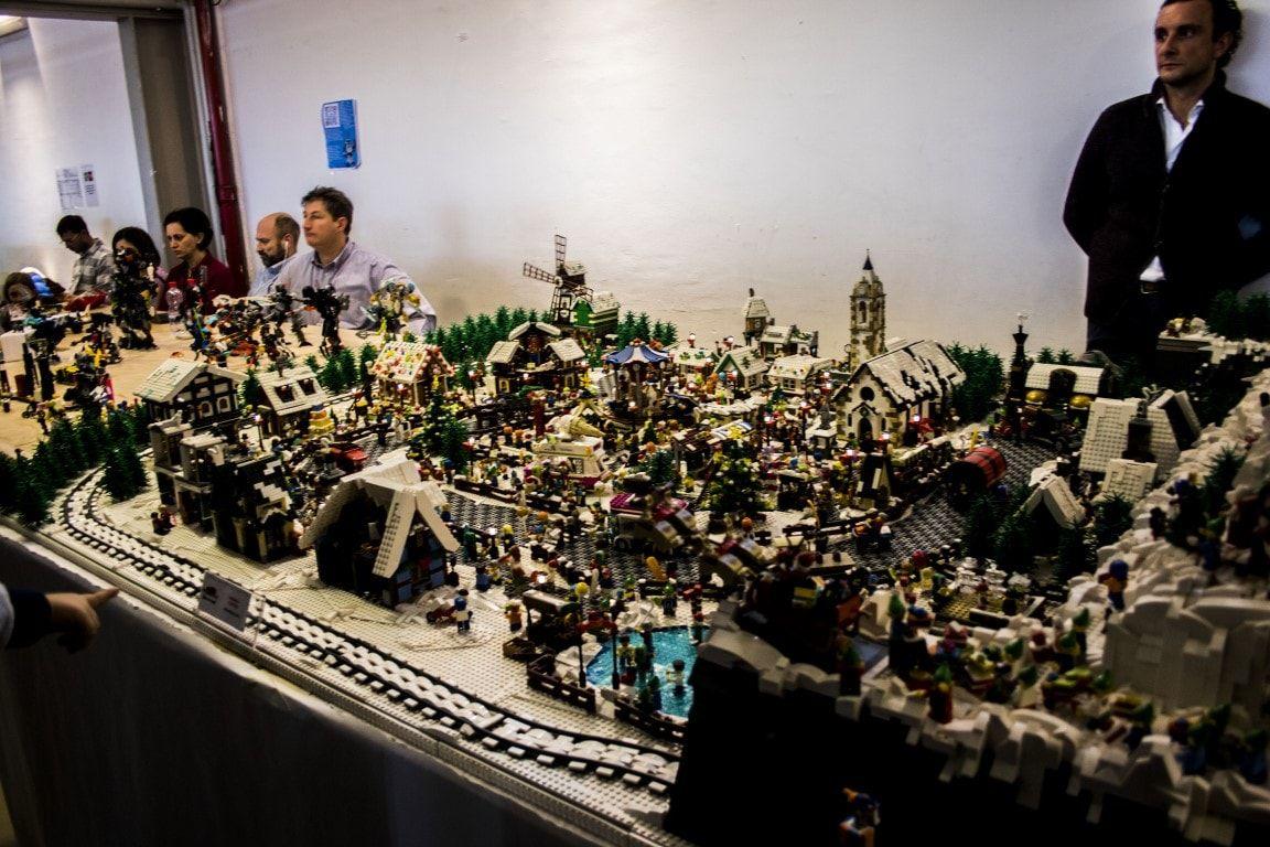 Mostra Lego - villaggio
