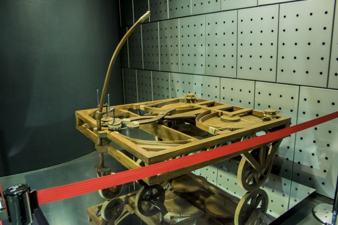 Auto Leonardo Da Vinci