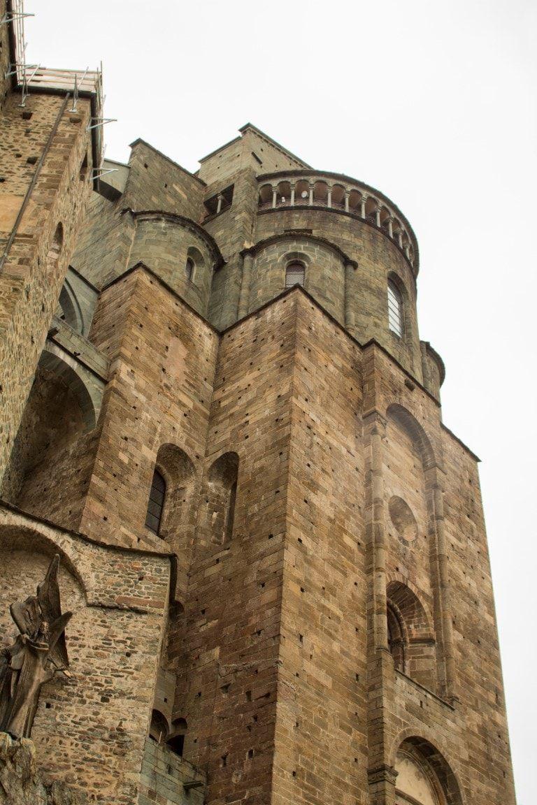 Sacra San Michele facciata