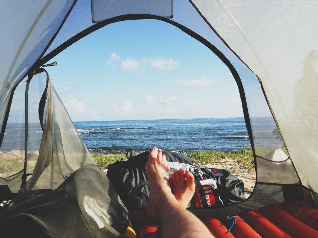 campeggio mare