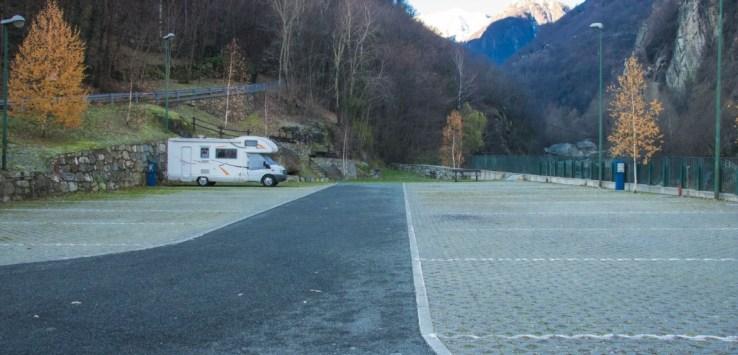 area sosta camper Hône
