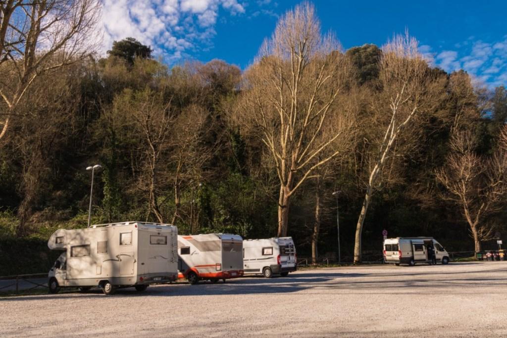 AA Volterra Area sosta