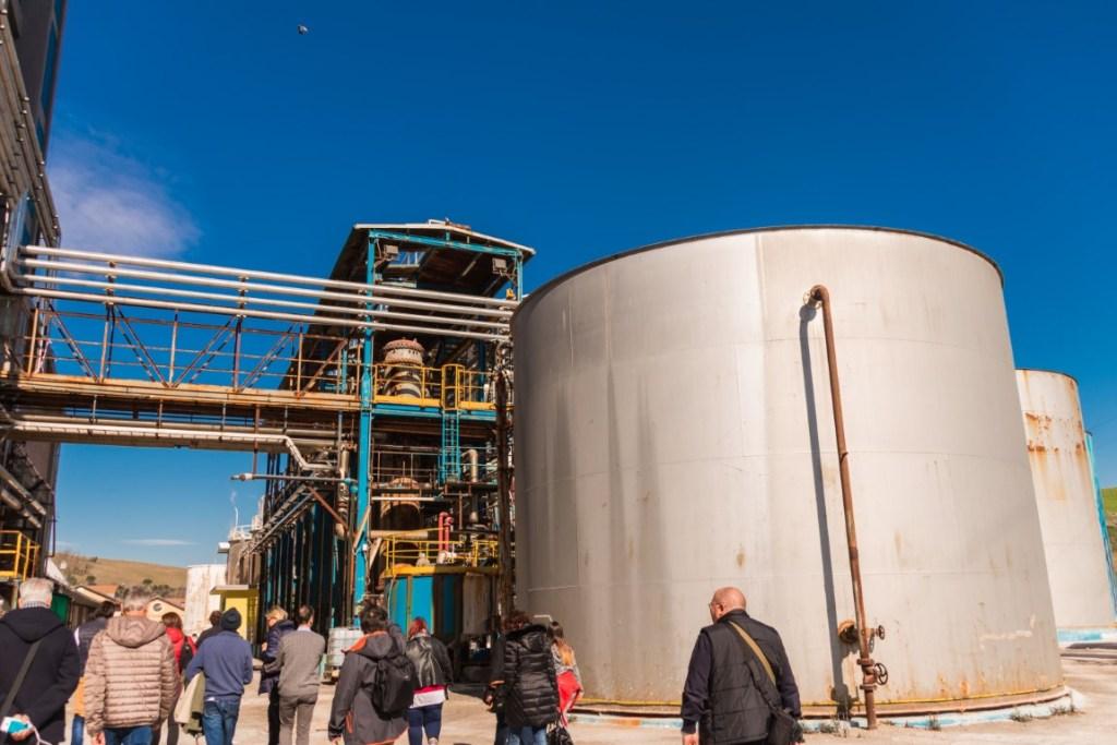 I silos con la salamoia