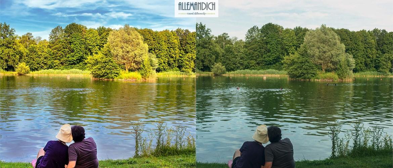 due foto a confronto