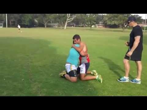 Esercizio: lotta e corsa