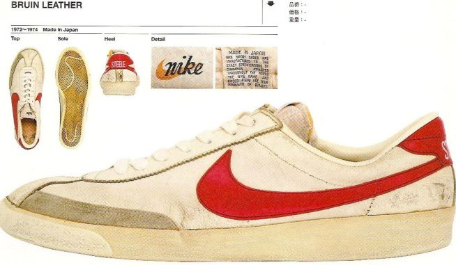 Nike Bruins from the early 70s