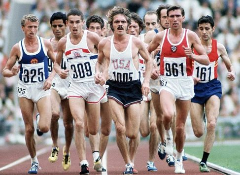 Prefontaine at the 1972 Olympics