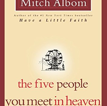 #1 Book Summary: The Five People You Meet In Heaven, by Mitch Albom