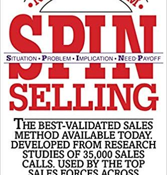 #1 Book Summary: SPIN Selling, by Neil Rackham