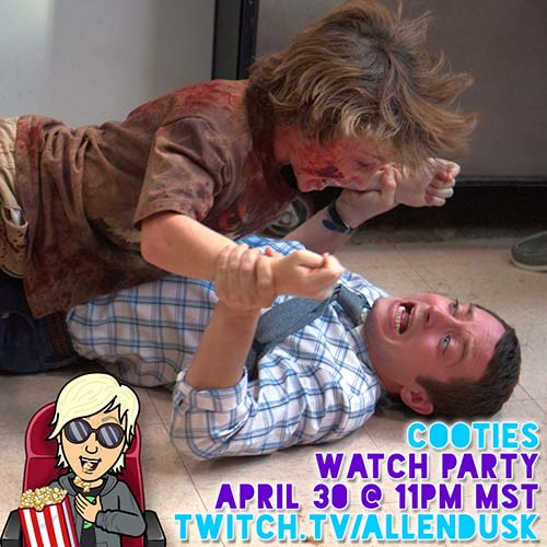 CootiesWatch Party on Twitch