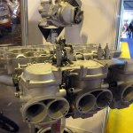 At the NEC January 2012 Z1300 Head and OEM BSW carburettors