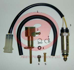 Mikuni Electric Solenoid MEG-024 Powerjet Conversion Kit Picture