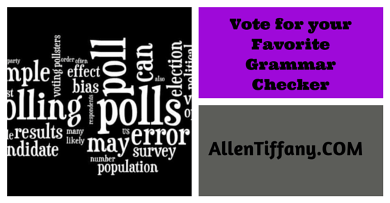 Grammar Checkers can help your writing craft. and how to write a book