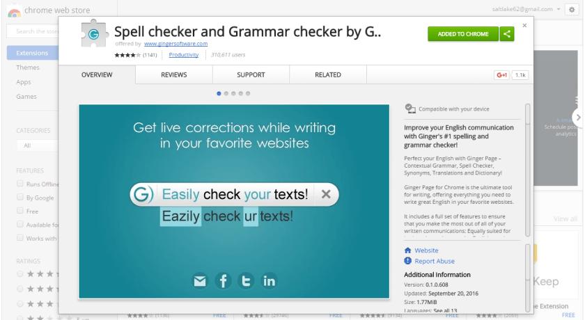 Ginger Grammar Checker, Grammarly, Hemingway Editor, Hemingway App