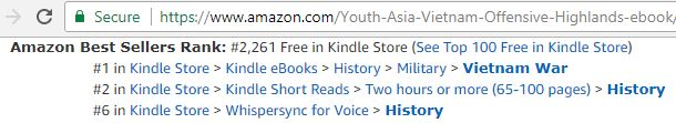 #1 and #2 Amazon ebook downloads