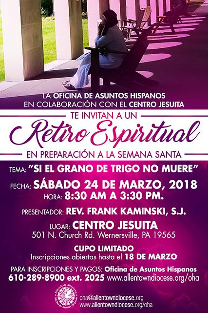 Hispanic Ministry Spiritual Retreat Spanish Roman