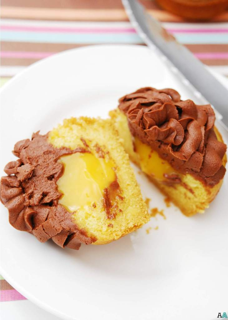 Boston Cream Pie Cupcakes (GF, DF, Egg, Soy, Peanut/Tree nut Free, Top 8 Free, Vegan) by Allergy Awesomeness