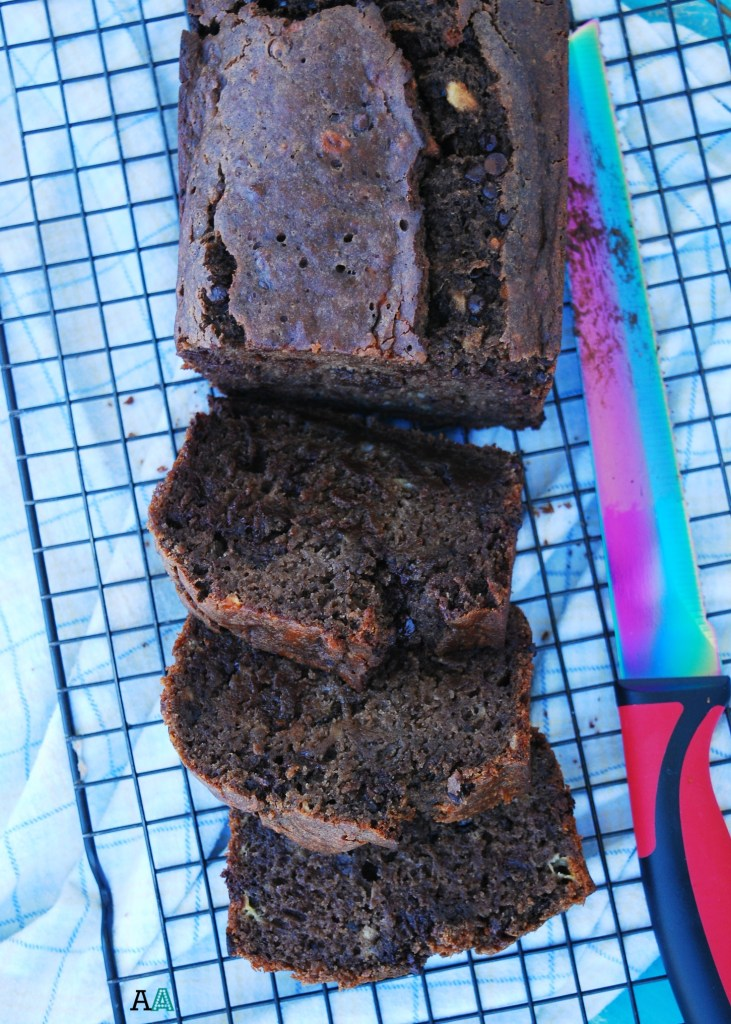 Double Chocolate Banana Bread (GF, DF, Egg, Soy, Peanut, Tree nut Free, Top 8 Free, Vegan) by Allergy Awesomeness
