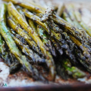 Roasted Garlic Balsamic Asparagus (GF, DF, Egg, Soy, Peanut, Tree nut Free, Top 8 Free, Vegan) by Allergy Awesomeness