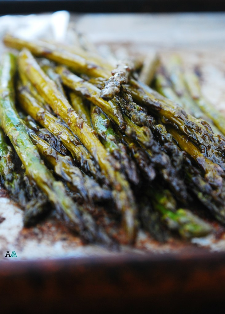 Roasted Garlic Balsamic Asparagus (GF, DF, Egg, Soy, Peanut, Tree nut Free, Top 8 Free, Vegan) by Allergy Awesomeness
