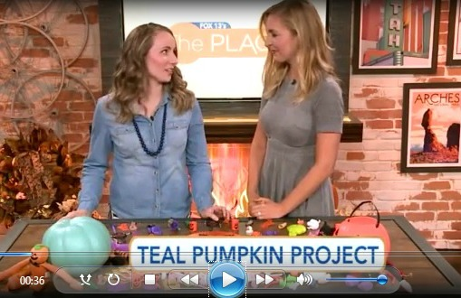 Teal Pumpkin Project Ideas with AllergyAwesomeness.com