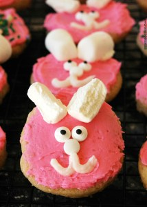 Gluten-free Vegan Easter Sugar Cookies by AllergyAwesomeness