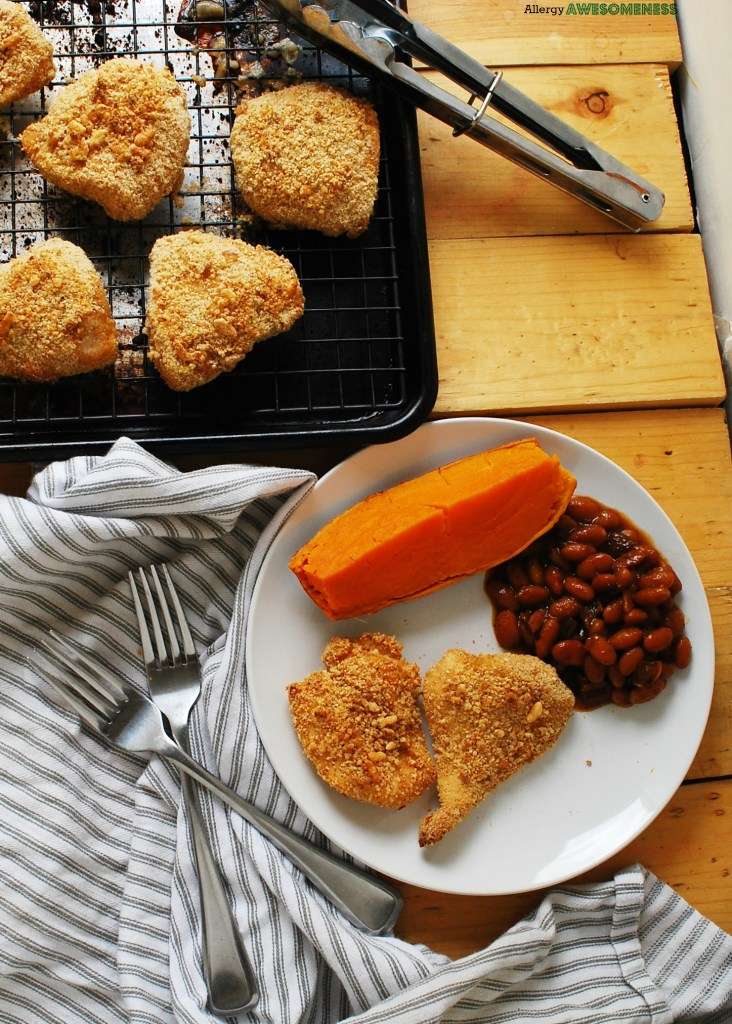 Dairy-free Unfried Chicken Recipe by AllergyAwesomeness