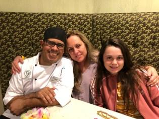 Chef Ricardo with us at Gasparilla Island Grill