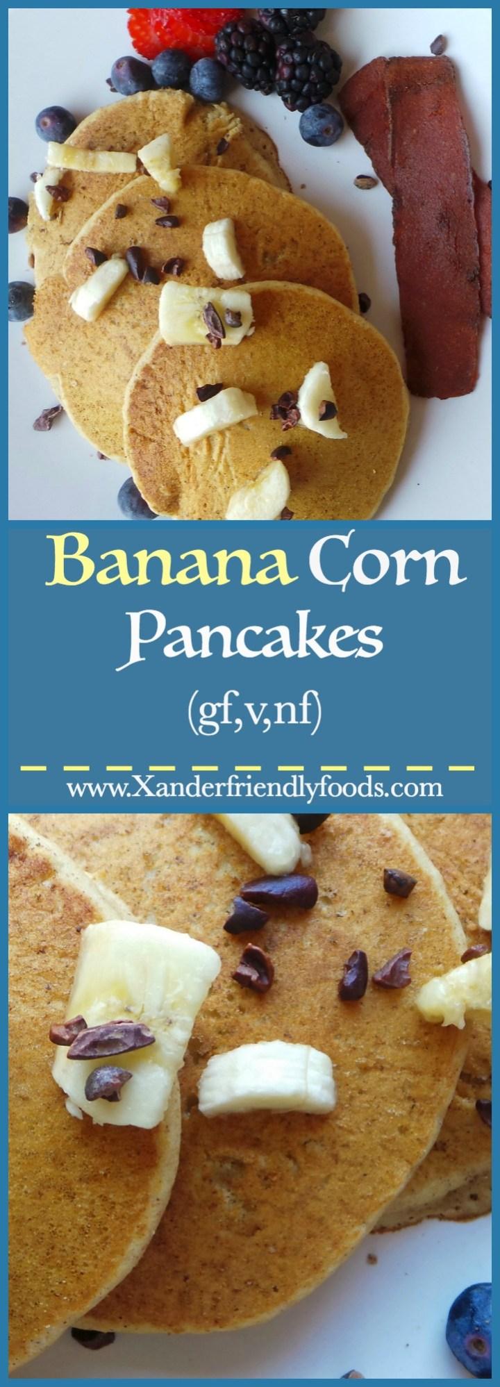 Banana Corn Pancake