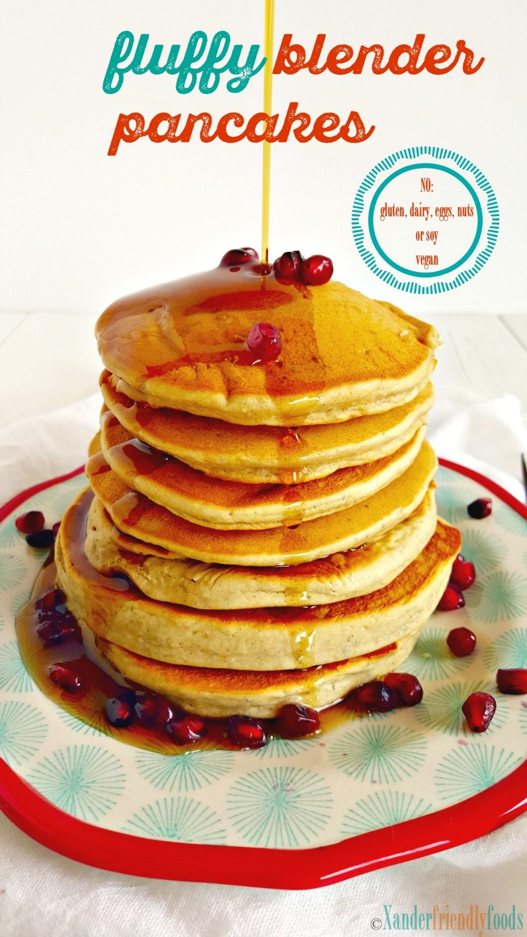 GF blender pancakes