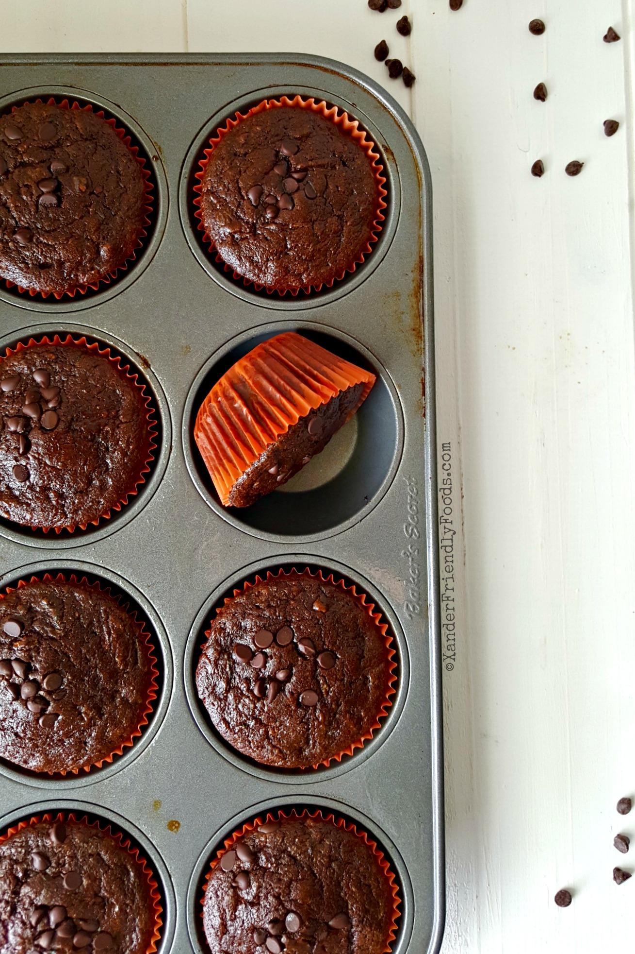 Chocolate Zucchini Muffins · Allergylicious