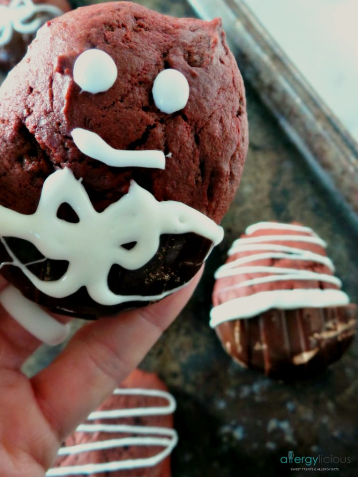 Your favorite cupcake now in the form of a cookie! DF,EG,NF, Vegan