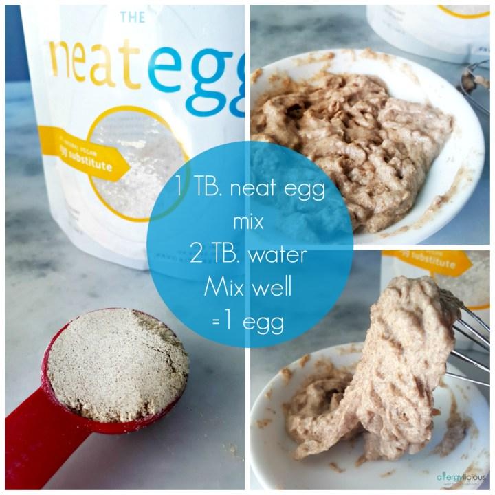 Vegan Egg Replacer alternative, works great as a binder