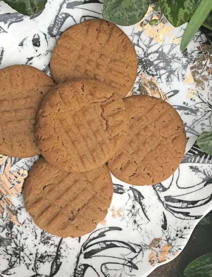 Vegan Biscoff Cookies