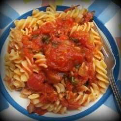 Sun Dried Tomato and Basil Pasta Sauce