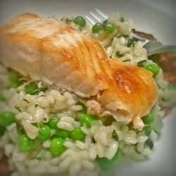Dairy Free Pea and Mint Risotto