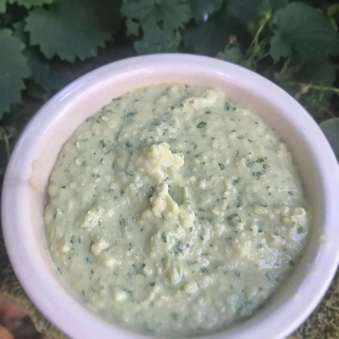 Coriander Hummus