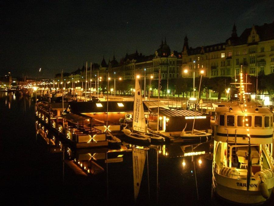 Skandinavien: Strandvägen, Stockholm