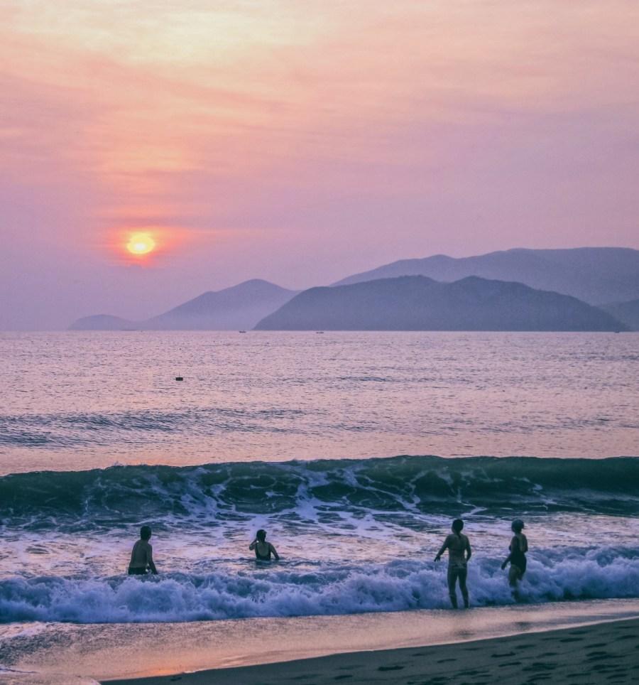 Nha Trang Strand Sonnenaufgang