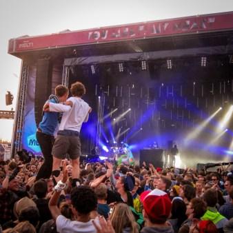 Boys Noize live auf dem Melt! Festival 2011