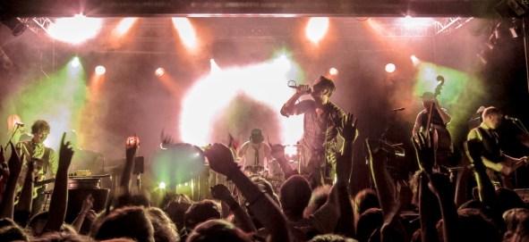 Kaizers Orchestra live im Postbahnhof Berlin 2011