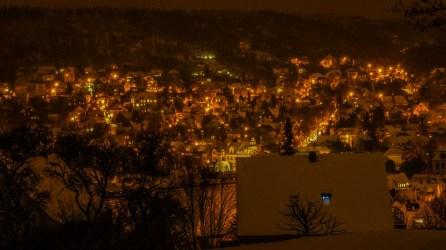 Jena-West vom Friedensberg aus gesehen
