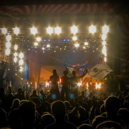 Blur live auf dem Sziget Festival 2013