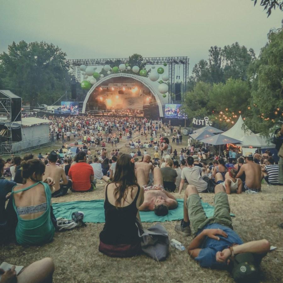 Calexico live auf dem Sziget Festival 2013