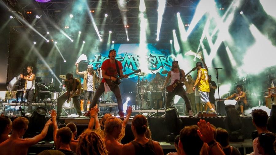 Hoffmaestro live auf dem Sziget 2013