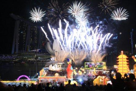 Feuerwerk fürs Chinese New Year