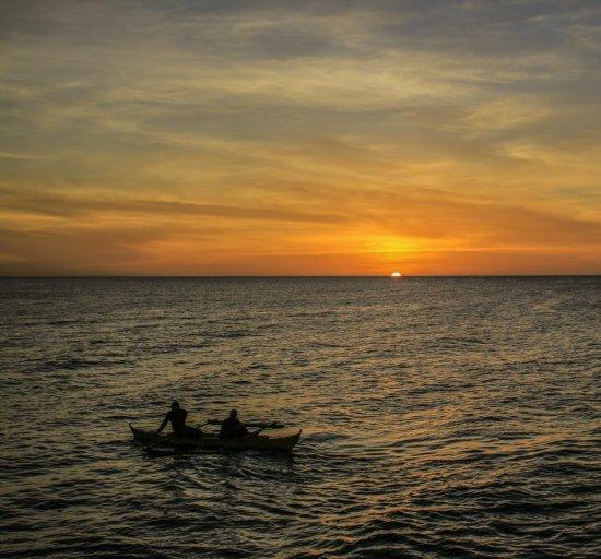 Sonnenuntergang vor Camiguin
