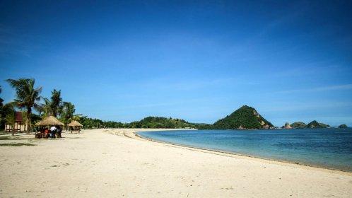 Der Strand von Kuta Lombok