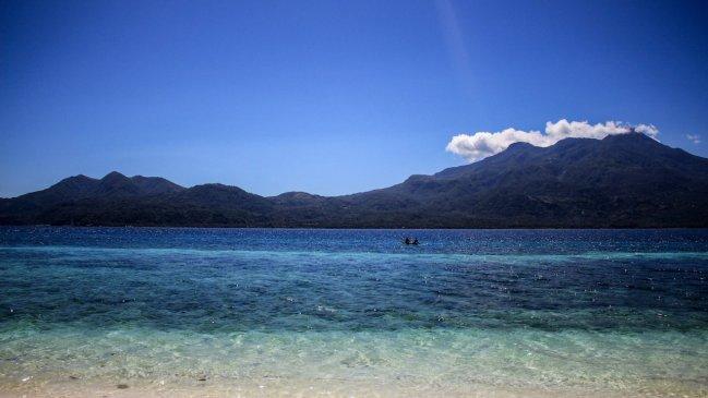 Strand von Mantigue (Magsaysay) Island
